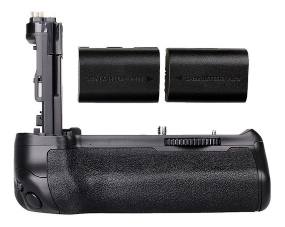 Grip Para Canon 70d / 80d + 2 Duas Baterias Extras Lp-e6