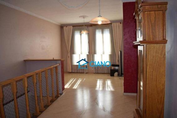 Sobrado Com 3 Dormitórios À Venda, 260 M² Por R$ 950.000 - Mooca - São Paulo/sp - So0321