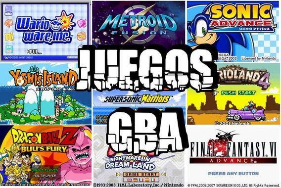 Mega Pack De Juegos Para Emulador Gba+emulador Para Android