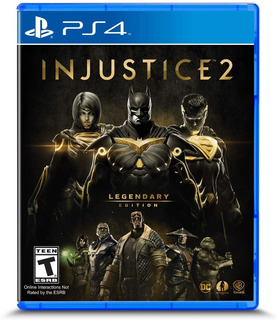 Injustice 2 Legendary Edition Ps4 Nuevo Fisico Sellado