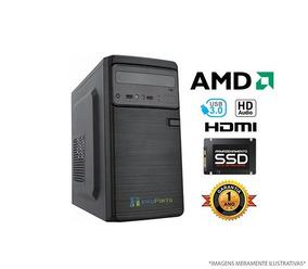 Computador Home Office Amd A4 6300 - 4gb Ram, Ssd 120gb