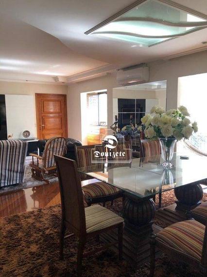 Apartamento Com 4 Dormitórios À Venda, 198 M² Por R$ 1.040.000,01 - Jardim Bela Vista - Santo André/sp - Ap9051
