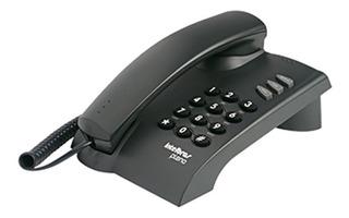Telefone Com Fio Intelbras Preto Pleno Com Chave