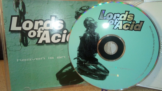 Lords Of Acid Cd Heaven Is An Orgasm Techno Industrial