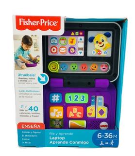Laptop Aprende Conmigo Sonido Fisher Price