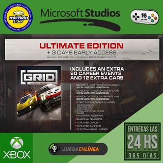 Grid Ultimate Xbox One Modo Local