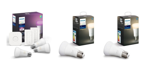 Philips Hue Kit De Inicio White&colors + 2 Bulb White Cuotas