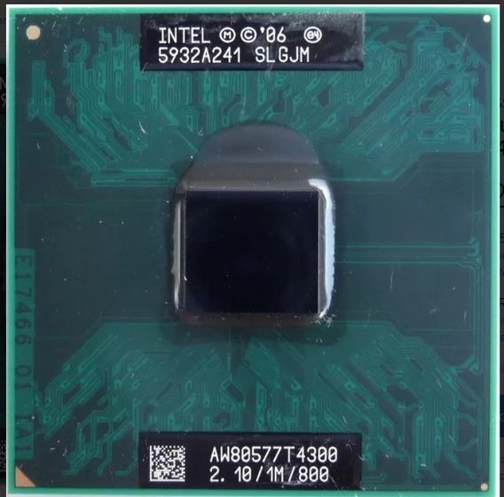 Processador Notebook Intel Dual Core T4300 2.10/800/1mb