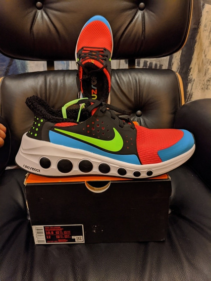 Nike Cruzone Bright Crimson / Electric Green Hombre 10.5 Us