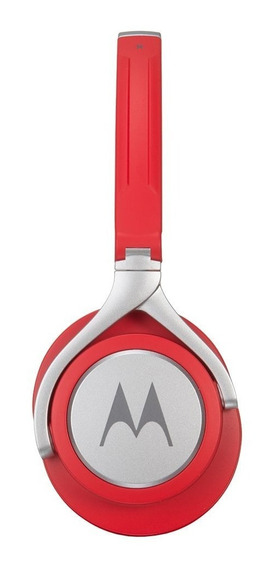 Fone Ouvido Original Motorola Pulse 2 C/ Microfone Vermelho