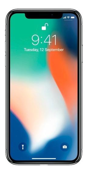 Apple iPhone X 256gb Plata Reacondicionado