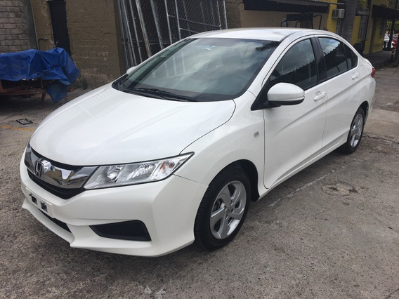 Honda City 2016 1.5 Lx Manual Un Dueño Impecable