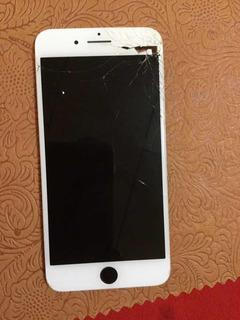 Pantalla Quebrada De iPhone 7 Plus Con Camaras