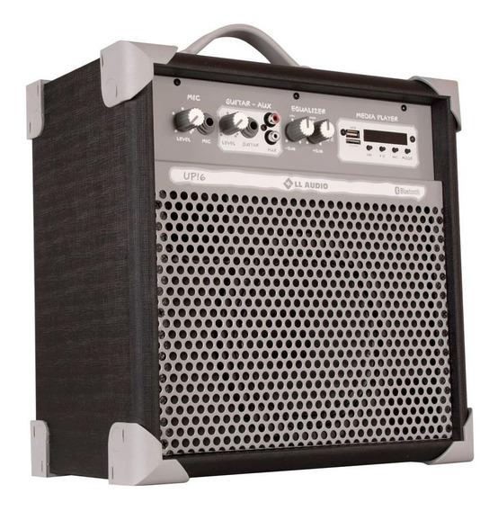 Caixa De Som Ll Audio Multiuso 6 45w Up!6 Bk Preta