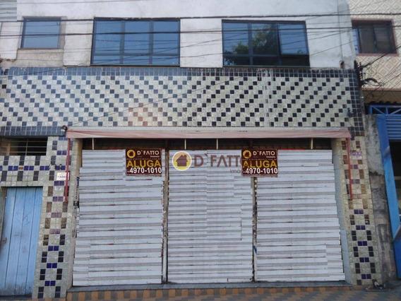 Ponto Comercial Para Locação, Jardim Tranqüilidade, Guarulhos. - Pt0003