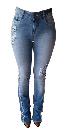 Calça Jeans Feminina Flare Minuty Country 201824 Lançamento