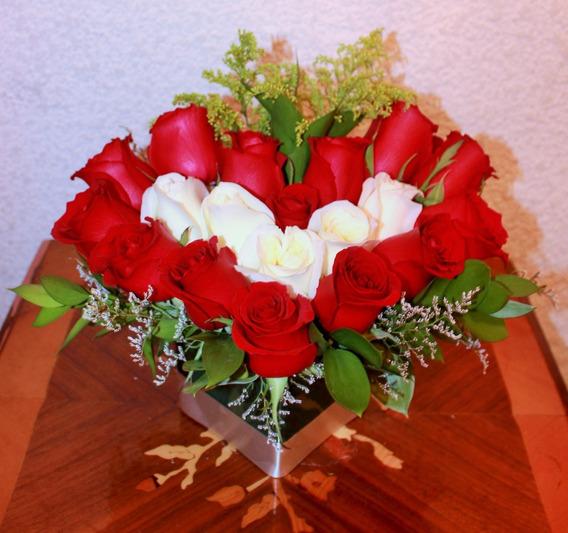 Floreros De Vidrio Para Arreglos Florales En Mercado Libre