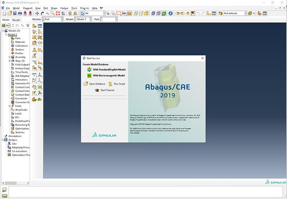Ds Simulia Suite 2019 (abaqus / Isight / Fe-safe / Tosca)