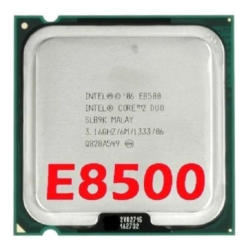 Imagem 1 de 4 de Processador Core 2 Duo E8500 3.16ghz 6mb Fsb 1333mhz