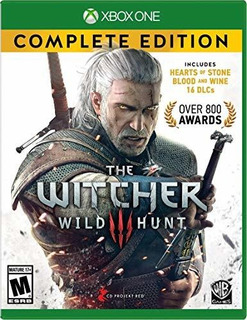 The Witcher 3 Complete Edition Xbox One Offline