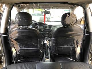 Protector Barrera Aislante Plastico Pvc Auto Taxi Uber Remis