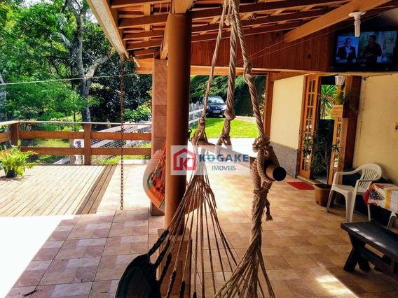 Chácara Com 3 Dormitórios À Venda, 26140 M² Por R$ 1.015.000,00 - Rio Preto - Santo Antônio Do Pinhal/sp - Ch0027