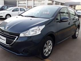 Peugeot 208 1.5 Active Color Gris Oscuro Año 2015