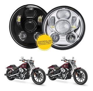 Farol Projetor Daymaker 5.75 - Led - Harley Softail Breakout