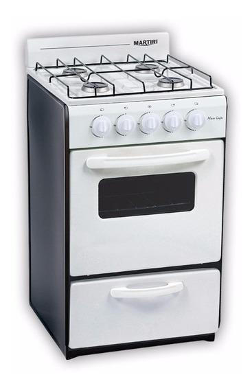 Cocina Martiri New Lujo Gas Natural Negra Envasado Black
