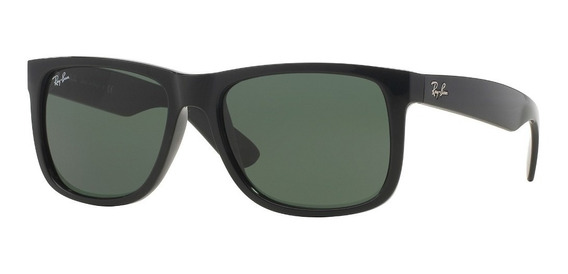 Lentes Ray-ban 0rb4165 Justin Negro Verde