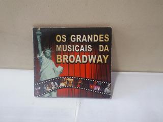 Cd Os Grandes Músicais Da Broadway Ja 120