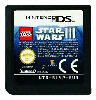 Lego Star Wars Iii 3 En Español Nds - Nintendo Ds 2ds & 3ds