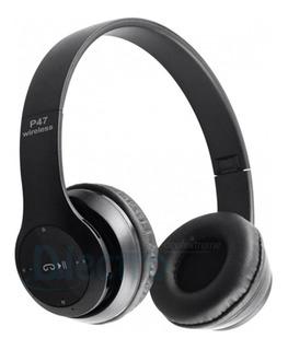 Audifono Bluetooth P47 Radio Fm , Micro Sd, Handsfree