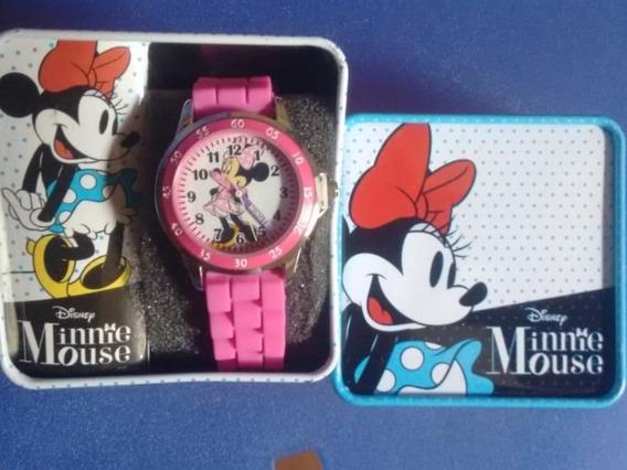 Relógio Infantil Importado Minnie Mouse