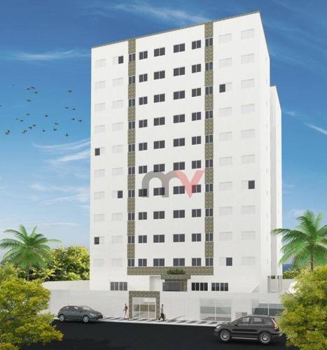 Apartamento À Venda, 49 M² Por R$ 212.300,00 - Vila Assunção - Praia Grande/sp - Ap1154