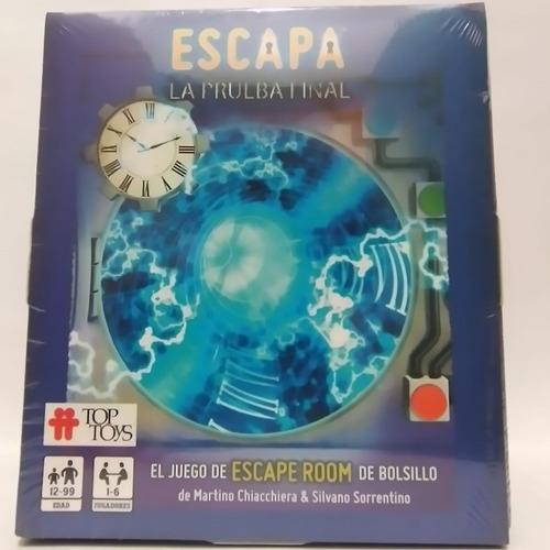 Juego De Mesa Escapa La Prueba Final-top Toys