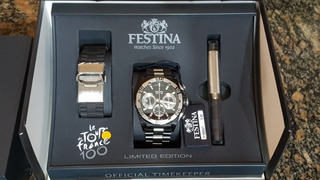 Festina Tour De France Limited Edition Black