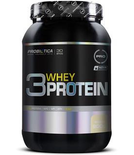 3 Whey Protein 900g Probiotica