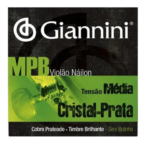 Imagem 1 de 3 de Encordoamento Giannini Série Mpb P/ Violão Nylon