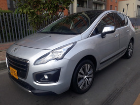 Peugeot 3008 1600cc Turbo A/t Techo Panoramico 2017