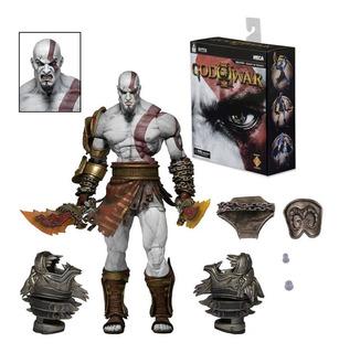 Neca Kratos God Of War Action Figure Nuevo En Stock