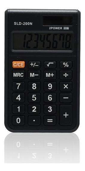 Mini Calculadora 8 Dígitos Com Capa Protetora 200n