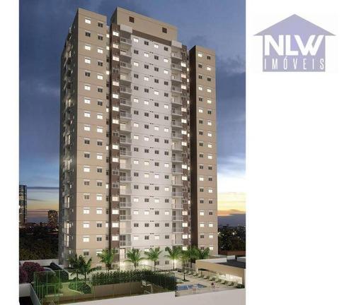 Apartamento Com 3 Dormitórios À Venda, 65 M² Por R$ 390.000,00 - Brás - São Paulo/sp - Ap1553
