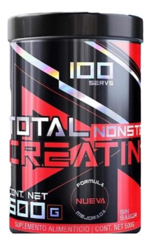 Imagen 1 de 4 de Total Nonstop Creatina Monohidratada 500 Gramos (100 Servs)