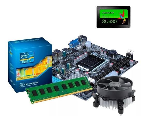 Kit Upgrade H61 + I5 3470 + Memória 8gb + Ssd 240gb(2 X 4gb)