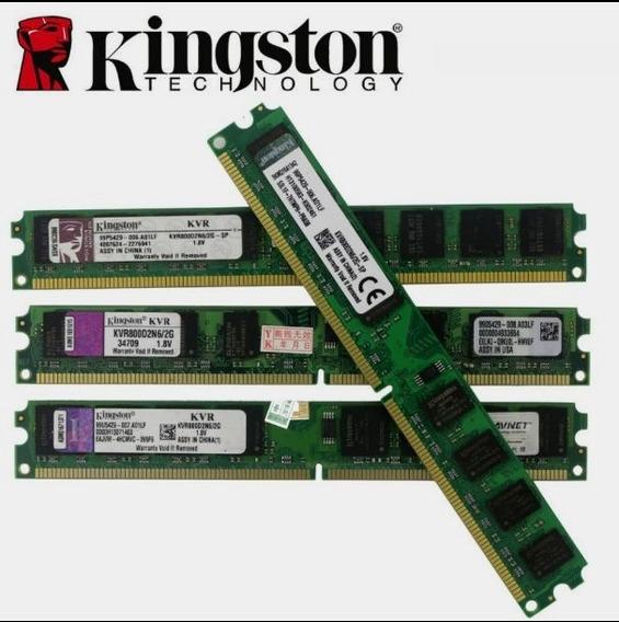 Memória Ram 2gb Ddr2 800mhz Kingston - Original