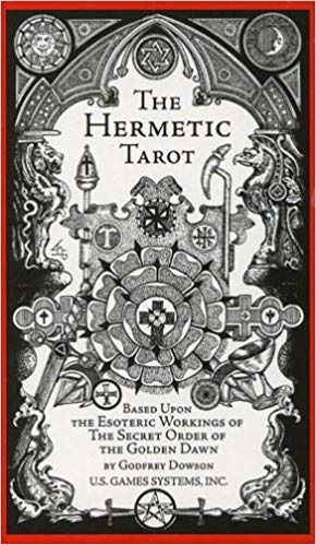 The Hermetic Tarot Este Tarot Esta En Ingles