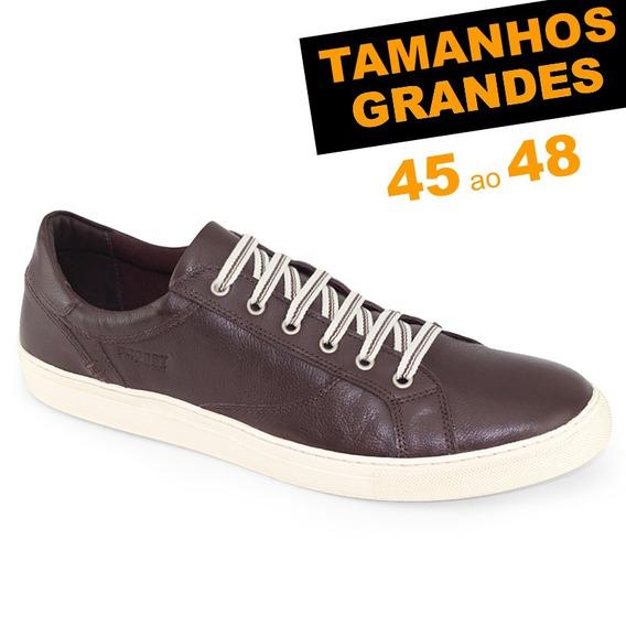 Sapatênis Probs7 Snap Coffee Tamanhos 45 46 47 48