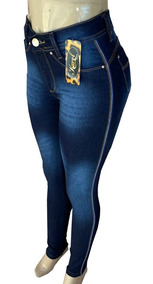 Calça Jeans Hot Pants Cintura Alta - Cos Alto