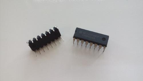 Imagem 1 de 1 de Circuito Integrado Ci Mc14553bcp Pacote Com 9 Un